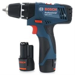 Аккумуляторный шуруповерт Bosch 120-Li - фото 4999