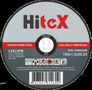 Диск абразивный Hitex 125*6,0*22,2 металл.