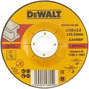 Диск абразивный DeWalt INDUSTRIAL 125*2,8*22,2 металл DT 42310Z-QZ