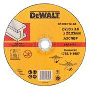 Диск абразивный DeWalt INDUSTRIAL 230*3,0*22,2 металл DT 42601Z-QZ