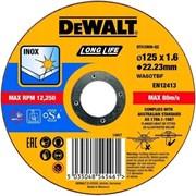 Диск абразивный DeWalt 125*1,6*22,2 металл DT 43906-QZ