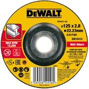 Диск абразивный DeWalt 125*2,8*22,2 металл DT 43911-QZ