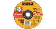 Диск абразивный DeWalt 180*2,8*22,2 металл DT 43912-QZ