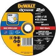 Диск абразивный DeWalt EXTREME 180*1.6*22,2 металл DT 43938-QZ