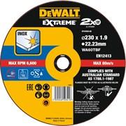 Диск абразивный DeWalt EXTREME 230*1.9*22,2 металл DT 43939-QZ
