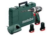 Аккумуляторный шуруповерт  Metabo PowerMaxx BS 10,8 В 600080960