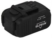 Аккумуляторная батарея ELITECH 18 V 4.0Ач
